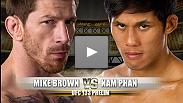 Combat préliminaire de l' UFC 133 : Mike Brown vs Nam Phan