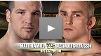 Combat pr&eacute;liminaire de l&#39; UFC 133 : Matt Hamill vs Alexander Gustafsson