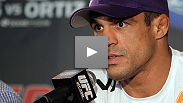 Belfort wants more, MacDonald is confident and Ebersole is just plain happy.  Check out the highlights from the UFC 133 Post Fight Press Conference.