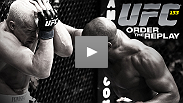 Relive every punch, kick and slam of UFC&reg; 133: Evans vs. Ortiz. Order the replay now!