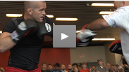 Main card fighters Chris Lytle, Charles Oliveira, Donald Cerrone and Jim Miller show off their striking skills at the UFC® Live open workouts.