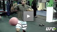 We give Edson Barboza (8-0-0) a Flip camera to get an inside look a