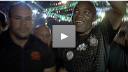 A very happy Anderson Silva stops Yushin Okami, and keeps his phenomenal winning streak intact. Hear his thoughts on the fight, and who he feels is most deserving of the next shot at his Middleweight title.