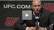 Georges St-Pierre responds to the shocking (in)actions of Nick Diaz and talks about his new opponent in advance of UFC 137.