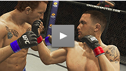 From dissecting and dismantling BJ Penn twice to his amazing resurrection versus Gray Maynard, Edgar has proven himself as the top lightweight in the world.  Vote for Frankie for the UFC 3 cover athlete at http://www.ufc.com/ufcundisputed3