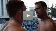 Powerful welterweights will meet tomorrow night in a bout that could determine the future of the always-fearsome division. See Jake Shields and Jake Ellenberger's intense face-off from today's weigh-in.