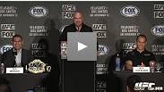 Watch the UFC on FOX Presale Press Conference Live from The W West Hotel in Hollywood