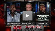 See more of the heated exchange between UFC 135 main event opponents Jon Jones and Rampage Jackson in this exclusive clip.