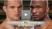 Evan Dunham was on a promising trajectory before two consecutive losses knocked him down the division's ladder.  Dunham will look to get back on track as he takes on TUF 13 alum, Shamar Bailey.