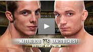 Lance Benoist and his perfect MMA record have finally arrived in the UFC.  In his debut fight, Benoist will meet Matt Riddle, who's entire professional career has taken place inside the Octagon.