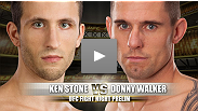 After both suffering from 0-1 starts in the UFC, Ken Stone and Donny Walker will be fighting for their first UFC win.  With the pressure of keeping their UFC career alive, look for a quick finish as both fighters will be anxious to fire early.