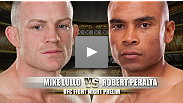 Robert Peralta makes his first appearance in the UFC as he takes on Mike Lullo in a bout between two scrappy featherweights.  Will Lullo's advanced submission game prevail, or will Peralta's striking aggression prove to be the dominant force?