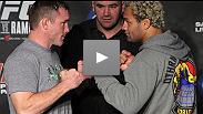 Josh Koscheck e Matt Hughes falam sobre a luta construída a curto prazo e outras potenciais lutas em seus futuros.