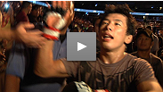 Takeya Mizugaki scores his first KO in the Octagon. The veteran explains what he saw in opponent Cole Escovedo that allowed him to unleash his devastating flurries.