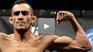 """One step at a time."" TUF winner Tony Ferguson makes a victorious lightweight debut by breaking Aaron Riley's jaw. Hear how he feels about his performance, and his new weight class."