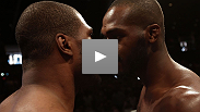 The time for talk is over and tomorrow, Jon Jones and Rampage Jackson go to war for the LHW belt. See their intense staredown from today&#39;s weigh-in here.