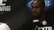 Post-fight press conference: Champion Jon Jones and Rampage Jackson talk game plans, respect, skill and... toe-sucking.