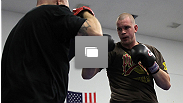 UFC Live Cruz vs Johnson Open Workouts at the Warrior Gym on September 28, 2011 in Arlington, Virginia. (Photos by Josh Hedges/Zuffa LLC/Zuffa LLC via Getty Images)