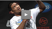 Mark Munoz answers question from the Fight Club members at the UFC Live: Cruz vs Johnson event in Washington DC.