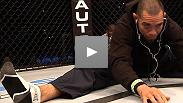 The stars of UFC® Live: Cruz vs. Johnson make their final preparations before showtime.