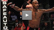"""""""This is what I've worked for my whole life."""" UFC® newcomer Walel Watson uses his """"long-range missiles"""" to earn a first-round KO. Hear what he has to say about his performance, his opponent, and his height advantage."""