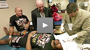 Go backstage with the guys after UFC 135 in what Dana White says is the best video blog he's ever done.