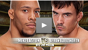 Washington, DC native Mike Easton could not think of a better place to make his UFC debut, as he faces Byron Bloodworth in the Nation's Capitol.  Bloodworth was recruited on less then a weeks notice as a late replacement for Jeff Hougland.
