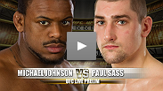 Despite his reputation for fight-ending submissions, no one has been able to figure out how to avoid the grasp of Paul Sass.  In order for Michael Johnson to hand Sass his first loss, he must keep this fight standing.