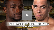 Veteran fighter Yves Edwards will look to overcome the brutal KO he suffered versus Sam Stout and put his career back on the path to resurgence. Edwards squares off against Rafaello Oliveira who will most likely be fighting to keep the UFC as his home.