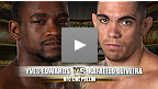 Combat pr&eacute;liminaire de l&#39;UFC Live 6 : Yves Edwards vs Rafaello Oliveira