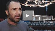 Hear what UFC commentator Joe Rogan thinks about tonight&#39;s two title fights.
