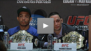 Watch the UFC 136 Post-fight Press Conference starring two title defenders, Sonnen's comedic gold, and Dana White