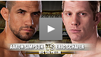 Luta preliminar do UFC 136: Aaron Simpson vs Eric Schafer