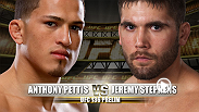 Expect a fast-pace striking battle as the flashy kicks of Anthony Pettis meet the power punches of Jeremy Stephens.