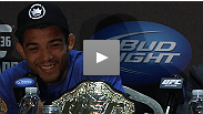Jose Aldo talks about what it took to defend his title against Kenny Florian, while KenFlo explains why he couldn't pull out the win.