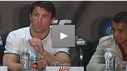 Chael Sonnen - or should we say, the undefeated, undisputed champion of who-knows-what - turns the hype machine up to 11 at the UFC 136 post-fight press conference.