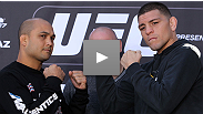 Headliners BJ Penn and Nick Diaz both show their relaxed, respectful sides at the UFC 137 pre-fight press conference, leaving Matt Mitrione to do all the instigating.