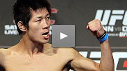 After grinding out a decision against a tougher-than-expected George Roop, Hatsu Hioki talks about the gameplan for his UFC debut.