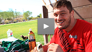 Follow Matt Mitrione through a typical day of fight week - media, meals and rest.