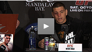 "Nick Diaz changes the game again as UFC president announces that Diaz' ""awesome"" win puts him next in line for GSP. Hear why Nick wasn't as happy with Fight of the Night performance."