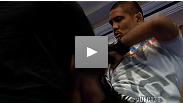 The stars of UFC® 138: Leben vs. Munoz show off their skills for media at the open workout.
