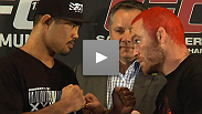 Two powerful brawlers who fight to win predict a barnburner for their main event. Hear from Chris Leben and Mark Munoz at the UFC 138 pre-fight press conference.