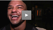 Thiago Alves used precision striking to set up some brutal ground and pound and his first-ever submission win. Hear why this Brazilian is thrilled to be back in the UK.