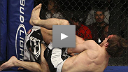 "British brawler Brad ""One-Punch"" Pickett shows off some slick submission skills, tapping out Kyle Dietz with a Peruvian Necktie at WEC 45."
