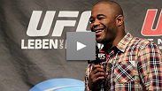 Rashad Evans cracks up the crowd at the UFC 138 Fight Club Q&A.