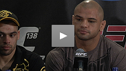 Press conference highlights: Thiago Alves and Terry Etim talk to reporters after their impressive first-round submission wins at UFC 138.