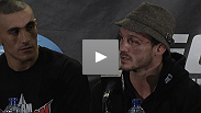 """What the hell's going on here?"" Brawling Brits Brad Pickett and Jason Young vow to come back stronger from their disappointing losses at the post-fight presser for UFC® 138."