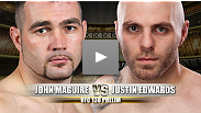 UFC® 138 Prelim Fight: Justin Edwards vs. John Maguire