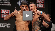 Watch the weigh-in for UFC on FOX: Velasquez vs. Dos Santos Weigh-In archive from the Santa Monica Civic Auditorium