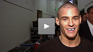 Dustin Poirier shows off his jiu-jitsu with a submission win over Pablo Garza. &quot;The Diamond&quot; talks about the victory, and throws his hat in the ring for a shot at the featherweight title.